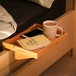 Bamboo Clip-On Bedside Shelf | M&W - Image 4