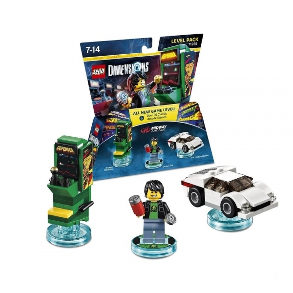 Midway Retro Gamer LEGO Dimensions Level Pack