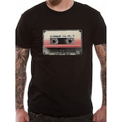 Guardians Of The Galaxy Vol 2 - Tape Men's Small T-Shirt - Black