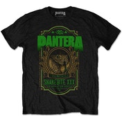 Pantera - Snakebite XXX Label Men's XX-Large T-Shirt - Black