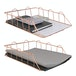 A4 Wire Filing Trays | M&W Rose Gold - Image 4