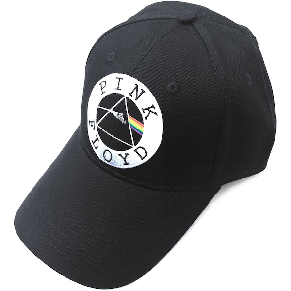 Pink Floyd - Circle Logo Men's Baseball Cap - Black
