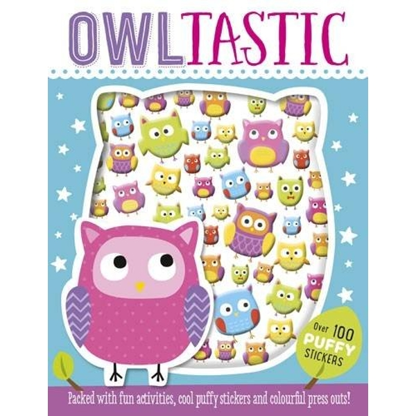 Owltastic Puffy Sticker Book by Make Believe Ideas (Paperback, 2016)
