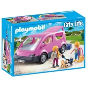 Playmobil City Life Van and Two Figurines