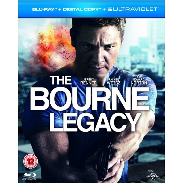 The Bourne Legacy Blu-ray + Digital Copy + UV Copy