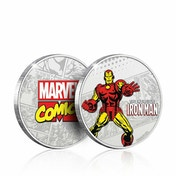 The Invincible Iron Man Limited Edition Collectors Coin (Silver)
