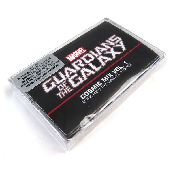 Guardians Of The Galaxy Cosmic Mix Vol. 1 Original Soundtrack Cassette