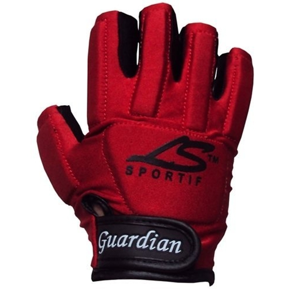 LS Guardian Hurling Gloves Junior Small RH Black/Gold