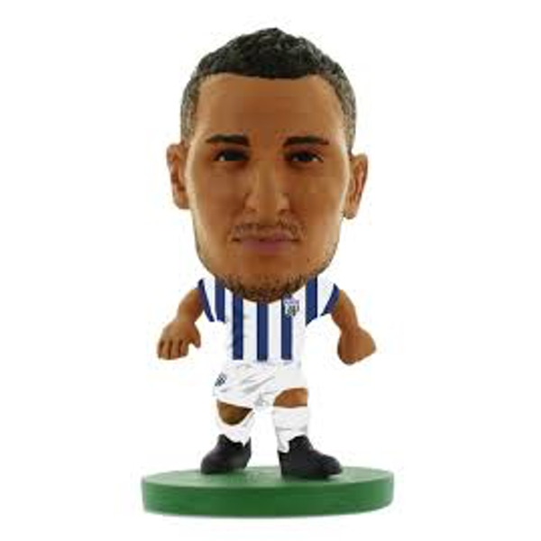 Soccerstarz Nacer Chadli West Brom Home Kit Classic Figure