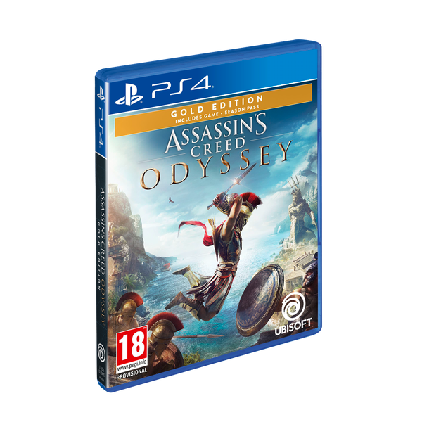 Assassins Creed Odyssey Gold Edition Ps4 Game