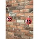 Marvel Deadpool Logo 3D String Lights - Image 2