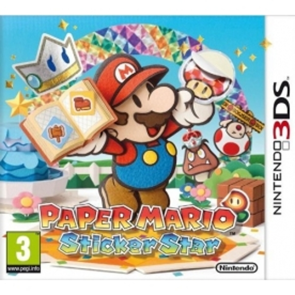 Paper Mario Sticker Star Game 3DS