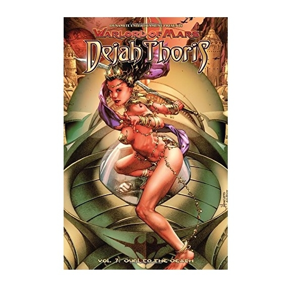 Warlord of Mars Dejah Thoris Volume 7 Duel to the Death Paperback