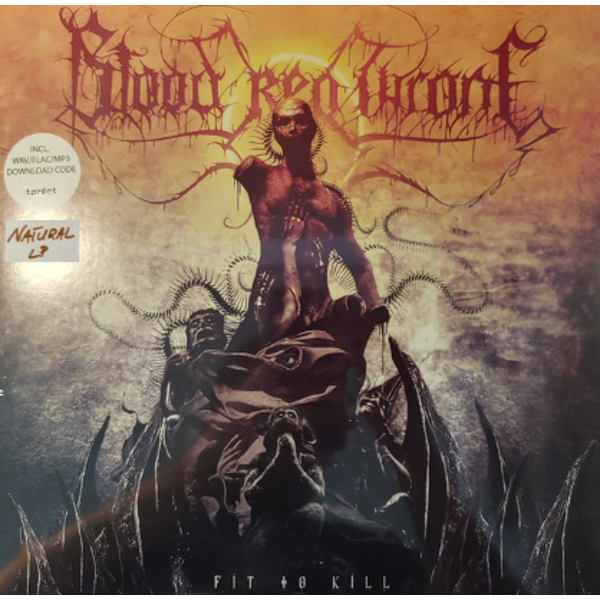 Blood Red Throne - Fit To Kill (Natural Vinyl)