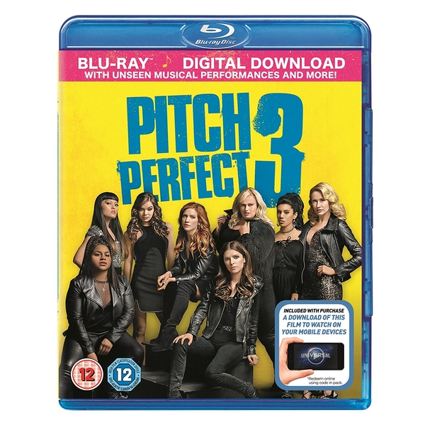 Pitch Perfect 3 Blu-Ray + Digital Download (Region Free)