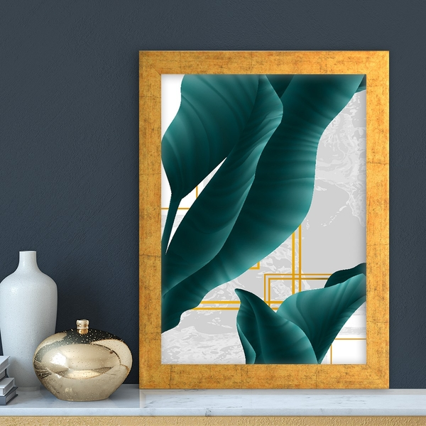 AC11559003914 Multicolor Decorative Framed MDF Painting