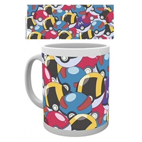 Pokemon Pokeballs Mug