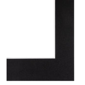 Hama Premium Passe-Partout, black, 40x50 cm, for an image section of 30x40 cm
