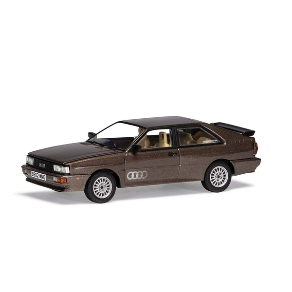 Audi Quattro Sable Brown Metallic 1:43 Corgi Vanguard Model