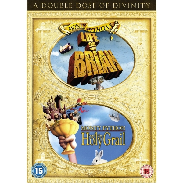 The Life of Brian Monty Python and the Holy Grail Double Pack DVD