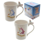Fantasy Unicorn Handle Shaped Ceramic Mug (1 Random Supplied)