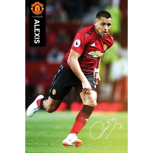 Manchester United - Alexis 18/19 Maxi Poster
