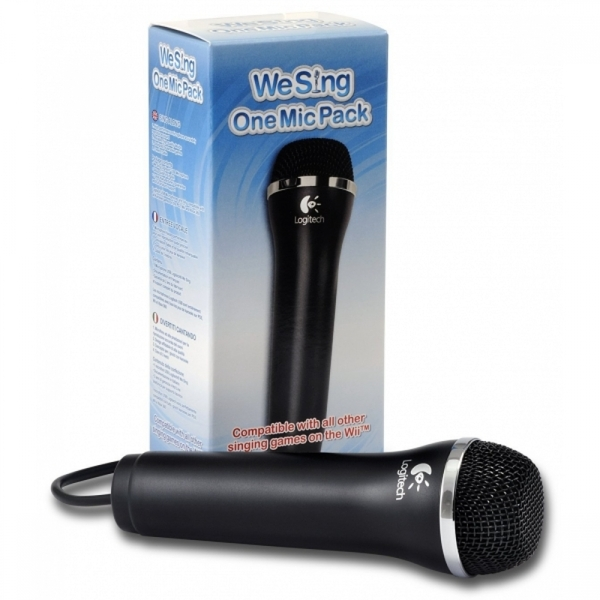 (Damaged Packaging) We Sing Logitech USB Microphone Wii/PS3/Xbox 360