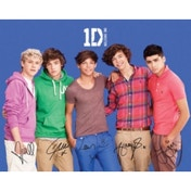 One Direction Blue Mini Poster