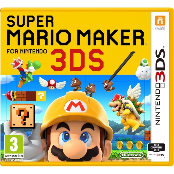 Ex-Display Super Mario Maker 3DS Game Used - Like New