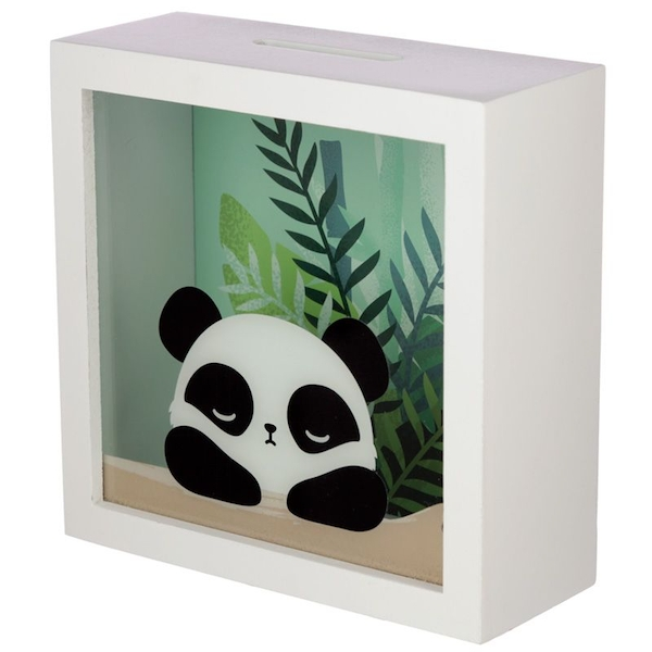 Panda Design See Your Savings Money Box