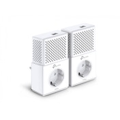 TP-LINK AV1000 1000Mbit/s Ethernet LAN White 2pc PowerLine UK Plug