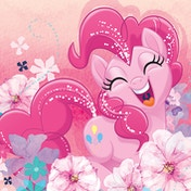 My Little Pony Movie - Pinkie Pie Bloom Canvas