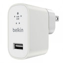 Belkin MIXIT 2.4 Amp Metallic White Home Charge (UK Plug)