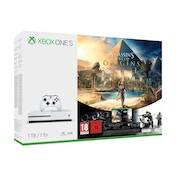 Microsoft Xbox One S 1TB Assassin's Creed Origins Console with Tom Clancy's Rainbow Six Siege