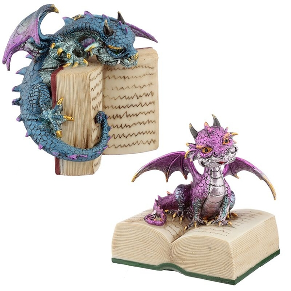 Reading Elements Dragon Figurine (1 Random Supplied)