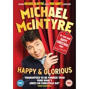 Michael McIntyre - Happy & Glorious DVD