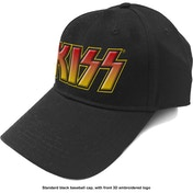 KISS - Classic Logo Men's Baseball Cap - Black