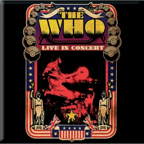 The Who - Live in Concert Fridge Magnet