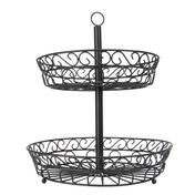 2 Tier Fruit Bowl | M&W