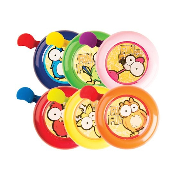 Adie Funny Faces Assorted Bells x6