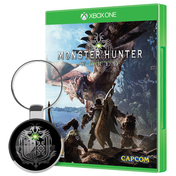 Monster Hunter World + Keyring Xbox One Game