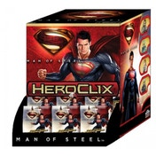 DC Heroclix Man Of Steel Movie Gravity Feed