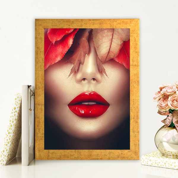 AC492042808 Multicolor Decorative Framed MDF Painting