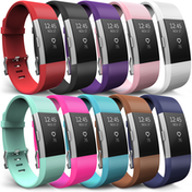 Yousave Fitbit Charge 2 Strap 10-Pack - Small