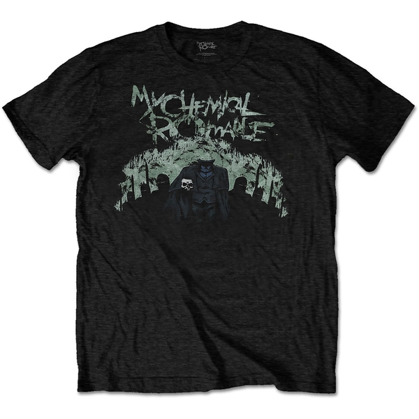 My Chemical Romance - Knight Procession Unisex Large T-Shirt - Black