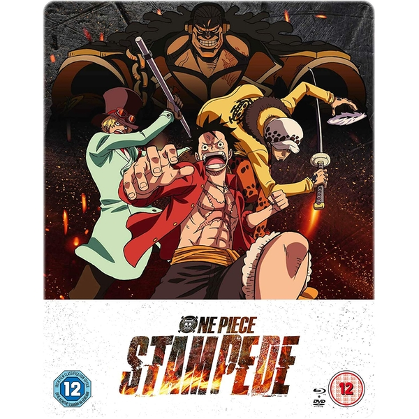 One Piece: Stampede: Limited Edition DVD / Blu-ray Combo Steelbook