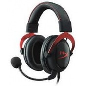 HyperX Cloud II Headset with Single Mini Stereo Jack Plug Red