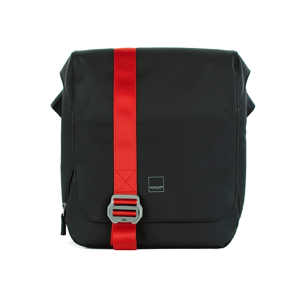 Acme Made AM20411-HT notebook case 33 cm (13 inch) Messenger case Black,Red