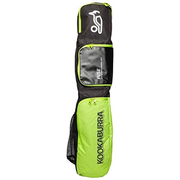Kookaburra Fuse Bag - Black/Lime