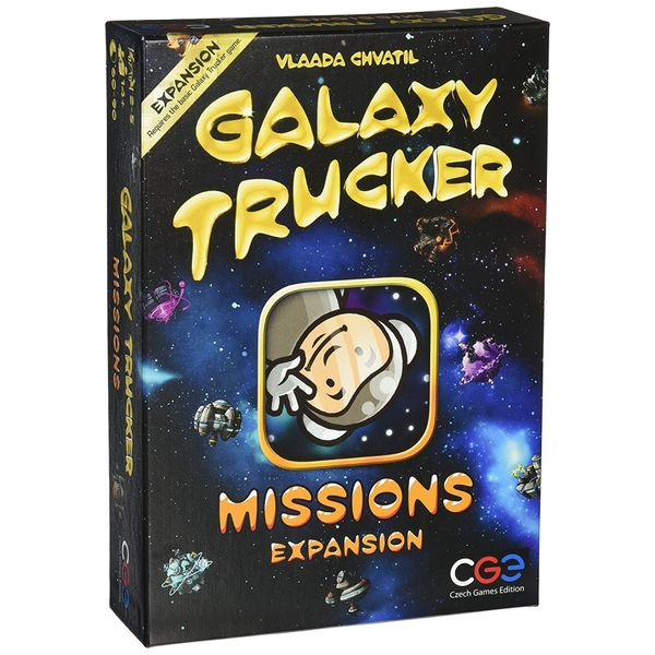 Galaxy Trucker Missions Expansion Board Game